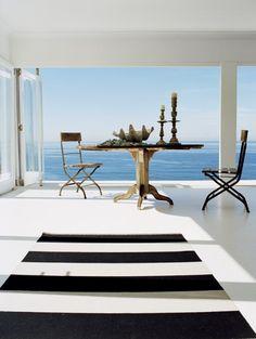 Home - Beach Living Coastal Homes, Coastal Living, Outdoor Spaces, Outdoor Living, Outdoor Decor, Coastal Style, Coastal Decor, Porches, Interior And Exterior
