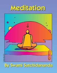 Meditation Excerpts from Talks by Sri Swami Satchidananda-Bookstore68 *** Click image to review more details.