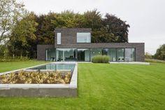 Casas modernas de hasa architecten bvba