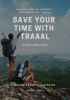 Planning Trips Are Extremely Challenging and Tedious. (-_-)   Save Your Time With #Traaal! (^_^)   We Are Coming Soon! \m/   #FollowUs and #StayUpdated :)   #travel #startups #travelphotography #hiking #adventures #nature #traveling #saveyourtime #time #onlinetravelagency #tours #ota #ilovetravel #ilovetravelling #iloveadventure #liveitup #online #business #promoteus #share #comingsoon