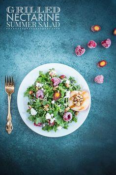 Grilled Nectarine Summer Salad
