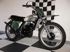 (1973) Honda Elsinore CR250 M (1973) Vintage Dirt Bike.