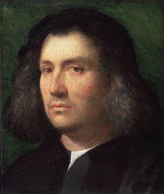 "missfolly: "" Portrait of a Man, 1506, by Giorgione (Giorgio da Castelfranco) """