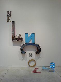 #letters #3d #conceptual #decoraiton