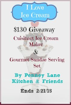 $130 Ice Cream Prize Package