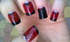 matte nail art easy party nails for new year s eve https www
