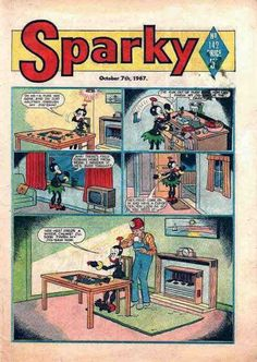 No information is available for this publication. If you know of any, please press the ADD DETAILS button above. Old Comics, Vintage Comics, Vintage Books, Children's Books, Comic Books, Art Bin, London Transport, Classic Comics, My Childhood Memories