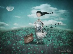 amanda cass<Life is a journey> Art Et Illustration, Illustrations, Dalai Lama, Tom Bagshaw, Tres Belle Photo, The Silent Treatment, Art Carte, Life Is A Journey, Naive Art