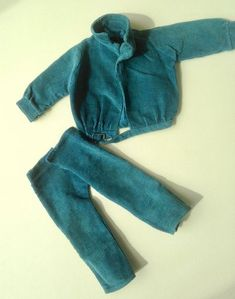 Original Gregor turquoise cords, jacket and trousers Sasha Doll, Online Price, That Look, Trousers, Sweatpants, Turquoise, Dolls, Suits, The Originals