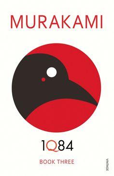 1Q84, Book 3 (designed by Noma Bar, Vintage paperback)