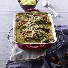 Überbackene Ofen-Rahmschnitzel Rezept | LECKER