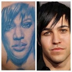 24 Questions That Can't Be Answered   Why does Rihanna look like emo pete wentz circa 2005?
