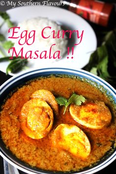 "Today's recipe is ""Egg curry masala"". This dish is simple, easy to prepare, tasty, flavorful & rich. Egg can be replaced with potato / paneer for vegan version. This egg curry…"
