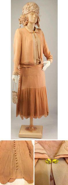 Day dress, Austrian, ca. 1926-28. kievm/eBay