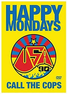 Happy Mondays - Call The Cops Live (DVD, for sale online Peel Sessions, Factory Records, Alternative Rock Bands, Movies To Watch Online, Watch Movies, Vinyl Junkies, Mystery Thriller, Film Review, Post Punk
