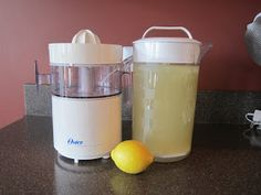 All Natural Recipes: Lemonade - Feingold Stage 1