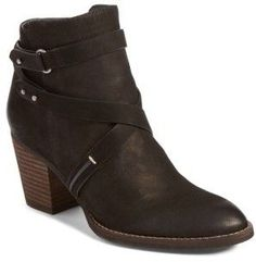 $149.95 - Women's Sam Edelman Merton Bootie - Tonal straps crisscross the shaft of a Western-chic bootie lofted by a chunky stacked heel. Brand: SAM EDELMAN. Style Name:Sam Edelman Merton Bootie (Women). Style Number: 5359320. Available in stores.