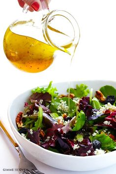 Learn how to make a white balsamic vinaigrette that's much lighter in color yet still tastes great!