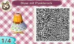 """animalcrossingnewleaf-acnl: """"This is a orange blouse and a white skirt with…"""