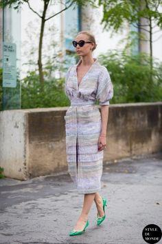 Ilona Stolie Street Style Street Fashion by STYLEDUMONDE Street Style Fashion Blog
