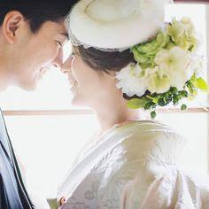 #CUCURU #夫婦 #結婚 #ウェディング #日本中のプレ花嫁さんと繋がりたい #プレ花嫁 #白無垢 #トーク帽 #花嫁 #前撮り #ロケーション前撮り #笑顔 #光 #和装 #和装前撮り #萌黄色 #黄緑 #花 #日本人でよかった #和 #ウェディング 鼻チュー むふふふふw 終始、照れ臭くてニマニマ止まらんかった‼️