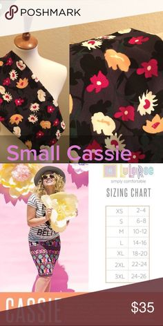 LuLaRoe Cassie Size S NWT Flowers We have tons more to list. helping a friend liquidate her inventory. So let us know what your looking for and we will see what we have in your size. She is open to offers as well. Jewelry is Park Lane! We can get those items too! Create a bundle for you. LuLaRoe Skirts Pencil