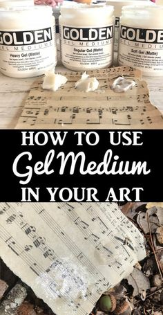 What is Gel Medium – A Comprehensive Guide! - The Graphics Fairy