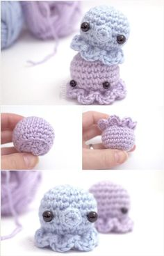DIY Crochet Amigurumi Octopus: - 31 Free Crochet Patterns That You will in Love with | 101 Crochet