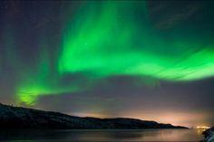 Espectáculo de fotos deja aurora boreal en Noruega   Soy502