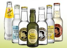Tonic water, Thomas Henry, Schweepes, Fentimans, Fever-Tree