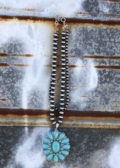 June Turquoise Necklace