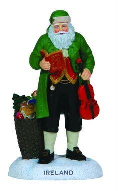 Pipka 7121215 Pipka World of Santas - Ireland Santa Figurine