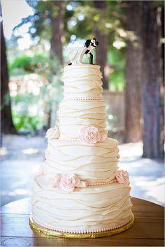 wedding cake #weddingcake @weddingchicks