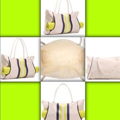 Workout tote with yoga mat. Brand new workout tote with yoga mat. Bags Totes