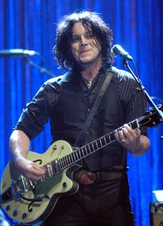Jack White of the Raconteurs performs during 2006 MTV Video Music Awards Show at Radio City Music Hall in New York City New York United States