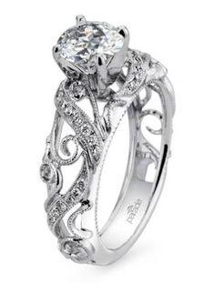 Vintage-Inspired Engagement