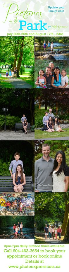 Time to update your family portrait for your wall. Come out in the beautiful outdoors of Maple Ridge BC. Call for your appointment Family Wall, Photography Services, Coming Out, Appointments, Family Portraits, Books Online, Outdoors, Beautiful, Going Out