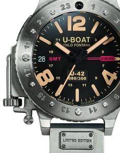 U-Boat U-42 GMT watch