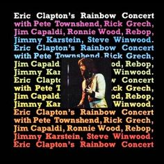 Eric Clapton Rainbow Concert LP 180g Vinyl Audio Fidelity Numbered Limited Edition Kevin Gray QRP USA - Vinyl Gourmet