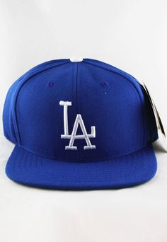 RETRO LOS ANGELES LA DODGERS WOOL SNAPBACK HAT