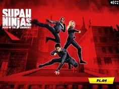 Estos estudiantes están entrenando para ser Ninjas