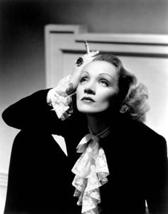 """A page for describing Creator: Marlene Dietrich. Marie Magdalene """"Marlene"""" Dietrich December 1901 — 6 May was a German-American actress and … Marlene Dietrich, Golden Age Of Hollywood, Vintage Hollywood, Hollywood Stars, Hollywood Icons, Hollywood Glamour, Divas, Man Ray, Kino Theater"""