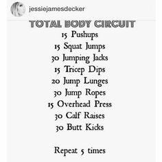 Jessie James Decker - Total Body Circuit