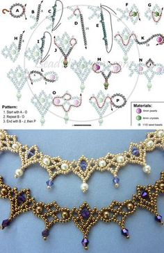 Antique-looking necklaces or bracelets