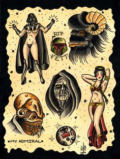 The other Star Wars flash sheet from Chris Rhodes.  The Bantha!