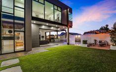 Sleek Summer Dream Home Interior Cladding, Wall Cladding, Outdoor Rooms, Outdoor Living, Brisbane Architecture, Case Study Design, External Cladding, Queenslander, Hamptons House