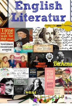 English Literature | @Piktochart Infographic