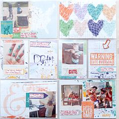Heather Greenwood | May 2014 - Week 22 Project Life pocket scrapbook page | BYOC at The Lilypad