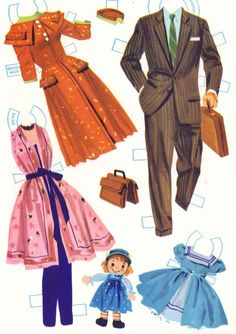 Probably the most iconic paper dollbook of the mid 20th century, this set is still highly sought after by collectors today. As it wasprod...