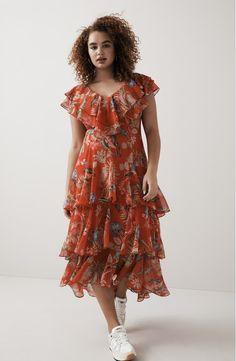 294c80edd8720 WAYF Chelsea Tiered Ruffle Maxi Dress (Regular & Plus) | Nordstrom ...